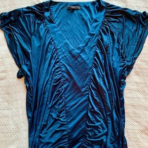 Silky Batwing Top